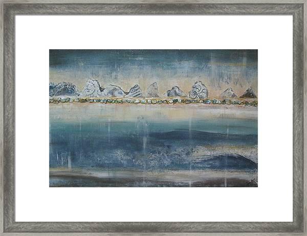 Abstract Scottish Landscape Framed Print