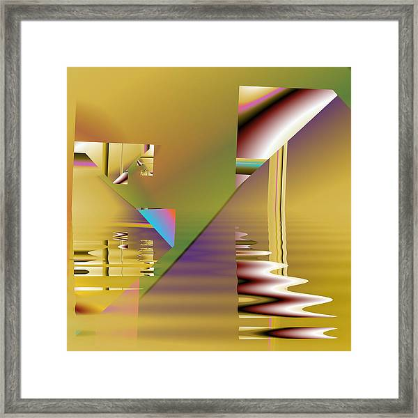 Abstract Waters Framed Print