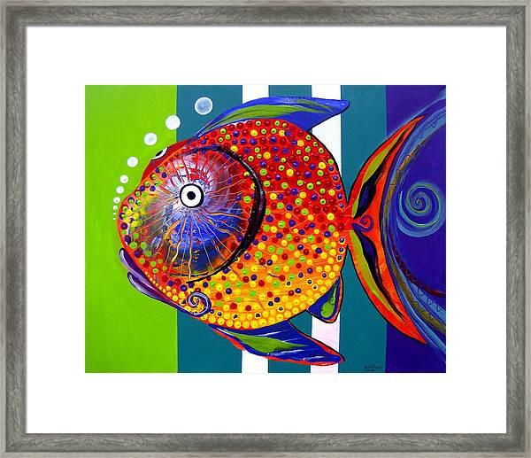 Acidfish 60 Framed Print