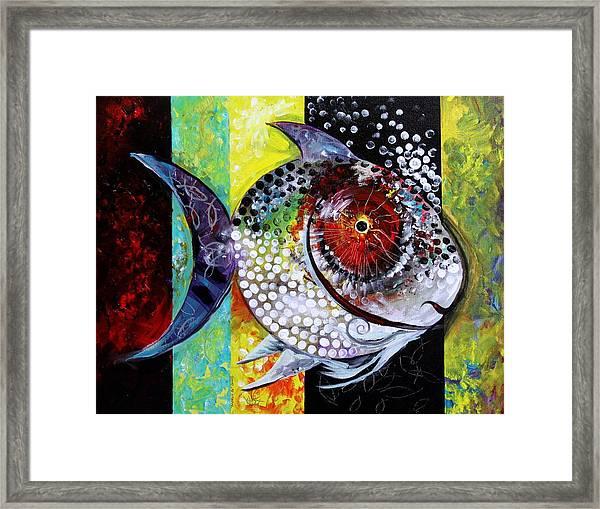 Acidfish 70 Framed Print