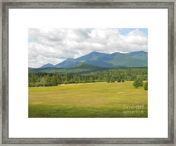 Adirondack Mountains Framed Print