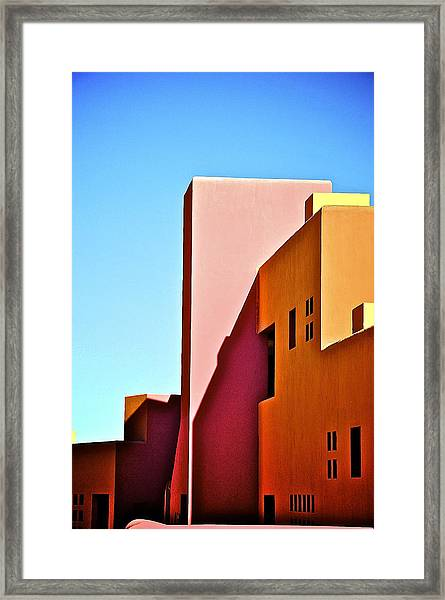 Adobe Framed Print