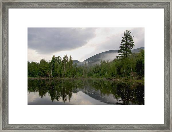 After A Spring Shower Framed Print