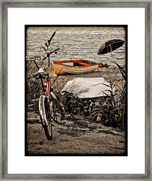 Hanioti, Greece - Afternoon At The Beach Framed Print