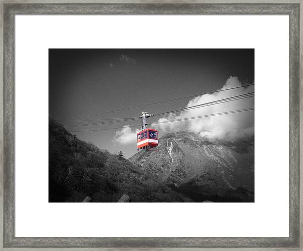 Air Trolley Framed Print