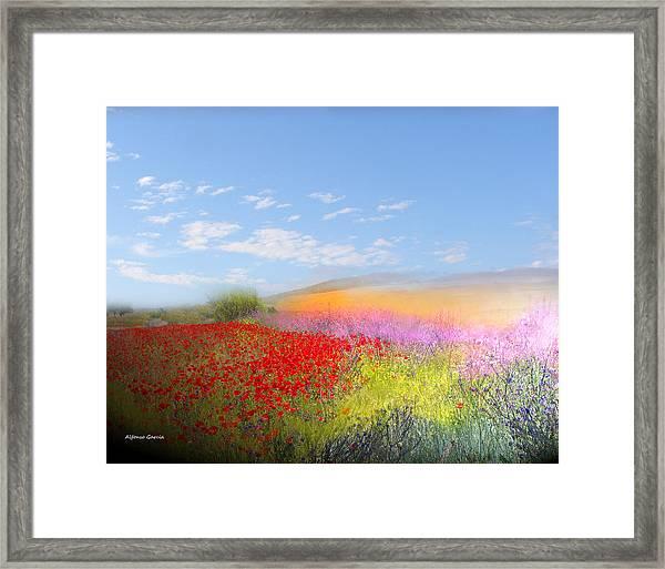 Ajofrin En Primavera Framed Print
