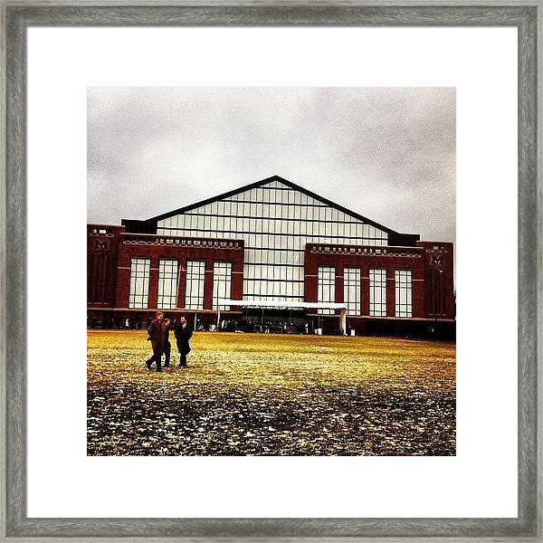 Al Glick Field House Framed Print