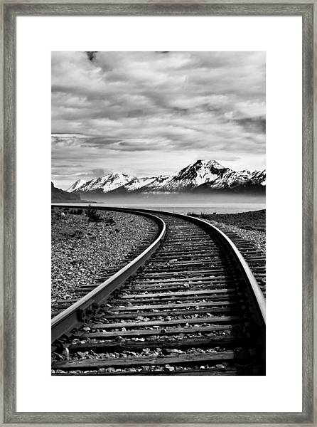 Alaska Railroad Framed Print