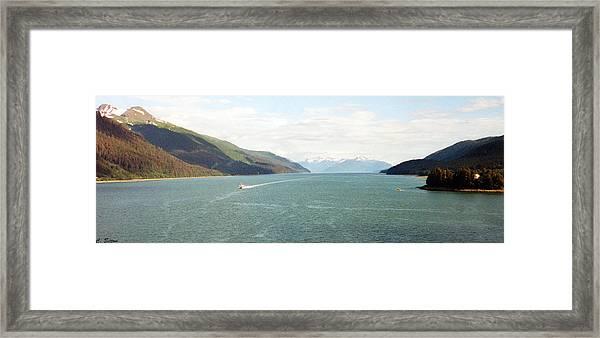 Alaskan Boatride Framed Print