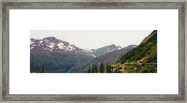 Alaskan Train Framed Print