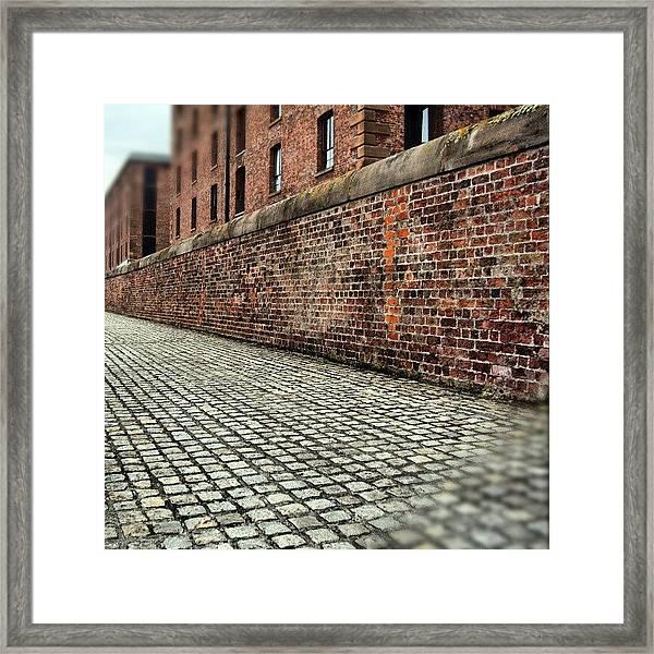#albertdock #liverpool #uk #england Framed Print