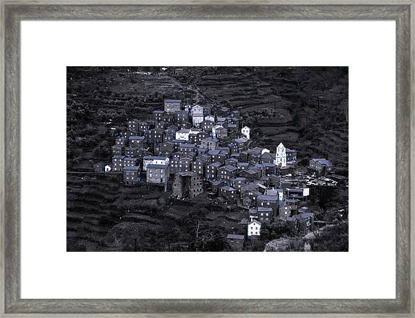 Aldeia De Piodao Framed Print by Dias Dos Reis