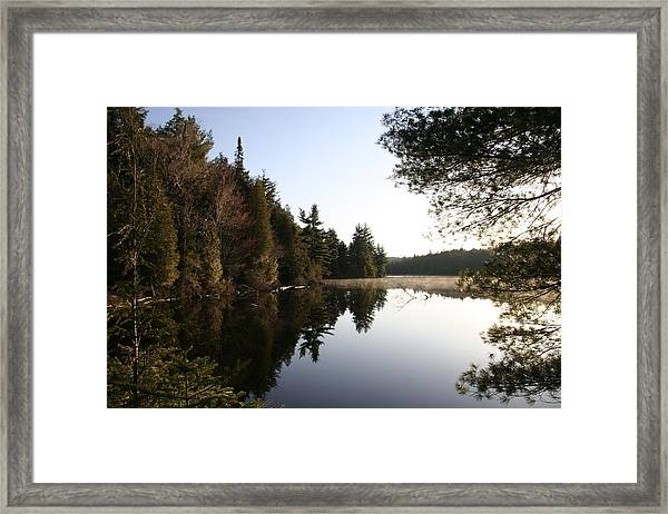 Algonquin View Framed Print by Carolyn Reinhart