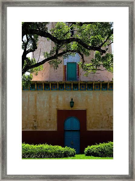 Alhambra Water Tower Doors Framed Print
