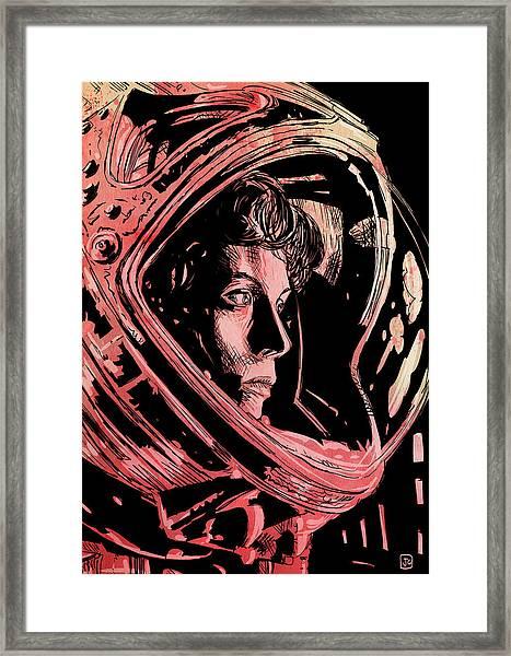Alien Sigourney Weaver Framed Print