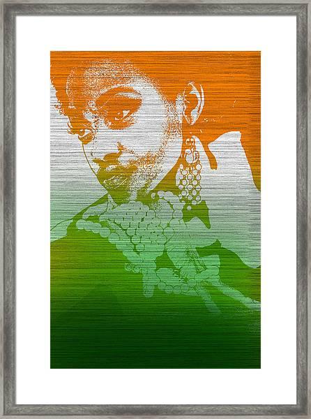 Aliyah Framed Print by Naxart Studio