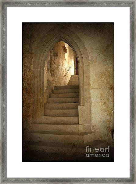 All Experience Is An Arch Framed Print