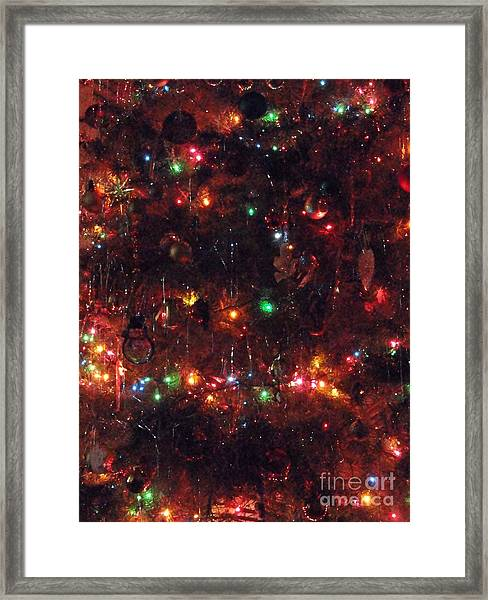 All Lite Up And Decked Out Two Framed Print by Daniel Henning