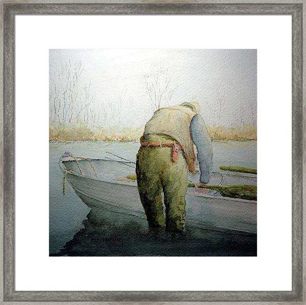 Alone 11312 Framed Print