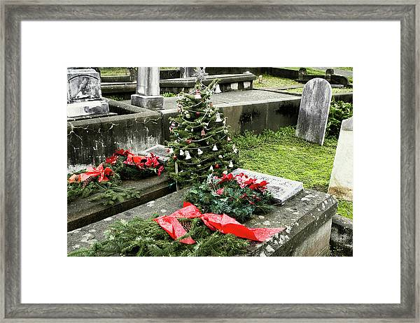 Framed Print featuring the photograph Always Home For Christmas by Lorraine Devon Wilke