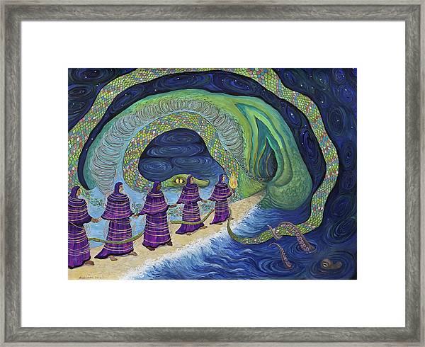 Ancient Serpent Framed Print
