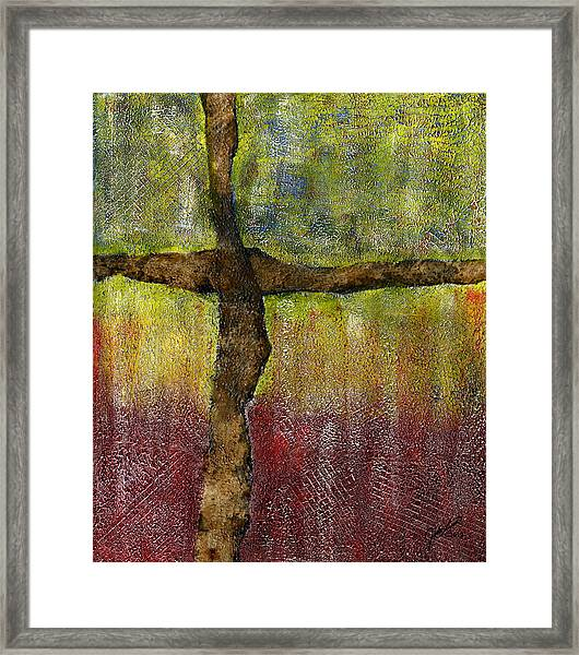 And This Is Love Framed Print