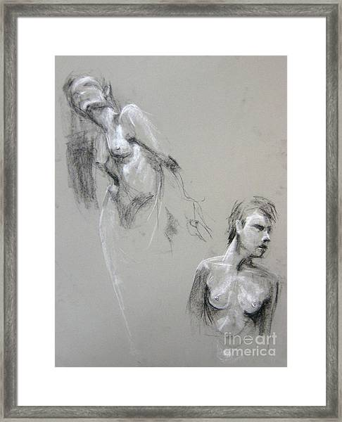 Andro Double Framed Print