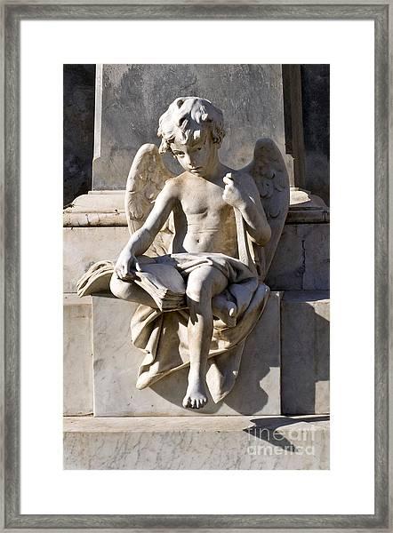 Angel Of Baroque Framed Print