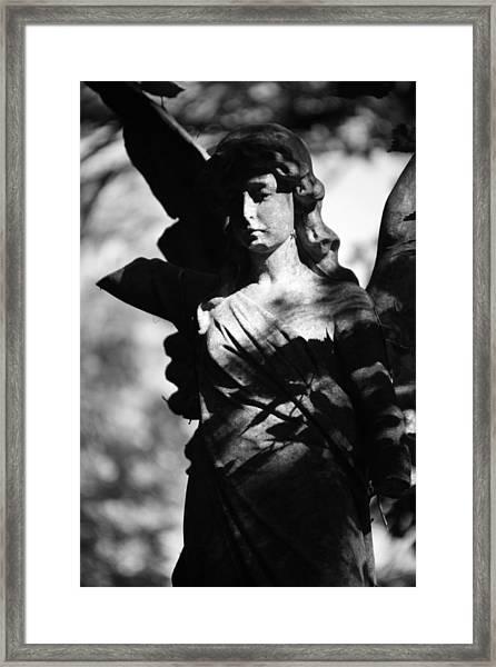 Angel Of Solitude Framed Print by Jez C Self