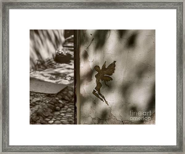 Angel Of Tallinn Framed Print