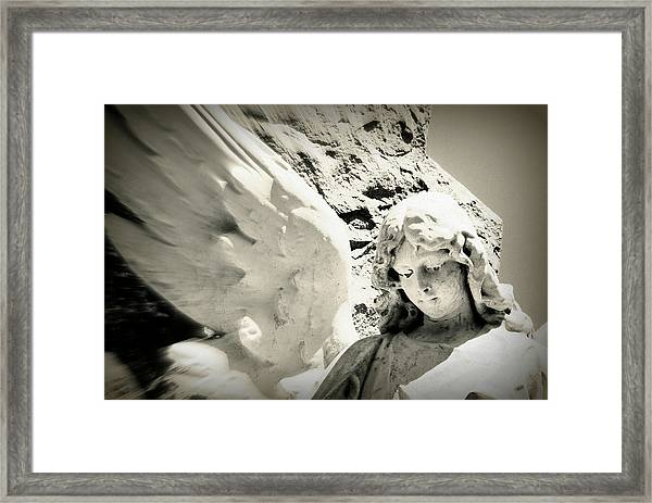Angelic Beauty Framed Print