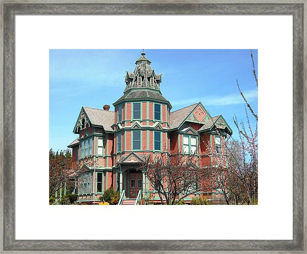 Ann Starrett Mansion Port Townsend Framed Print