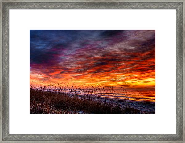 Another Perfect Morning Framed Print