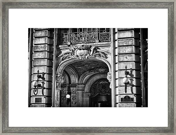 Ansonia Building Detail 4 Framed Print