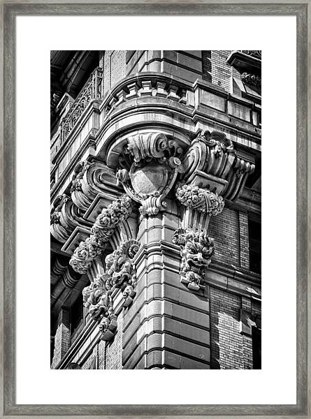 Ansonia Building Detail 40 Framed Print