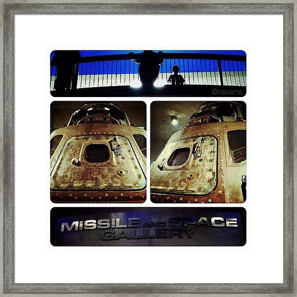 Apollo 15 Command Module (4th Mission Framed Print