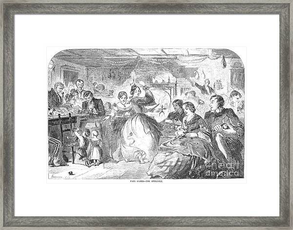 Apple Bee, 1859 Framed Print