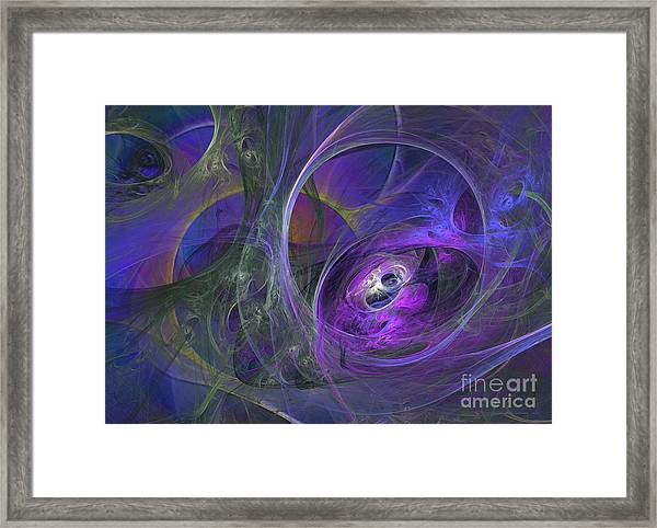 Aquarius 49 Framed Print