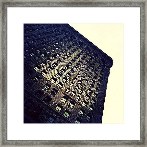 Architectural Angle Framed Print