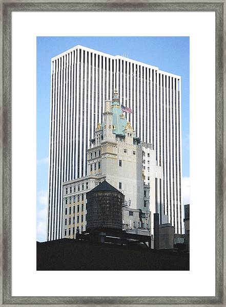 Architectural History-nyc Framed Print