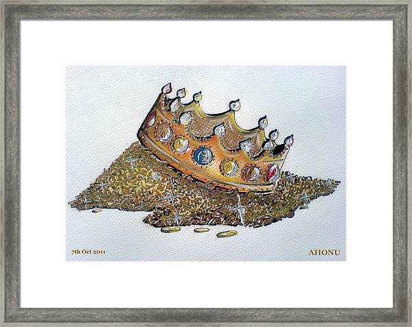 Aristocracy Disseminating Wealth Framed Print