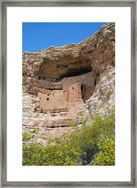 Arizona Cliff Dwellings Framed Print