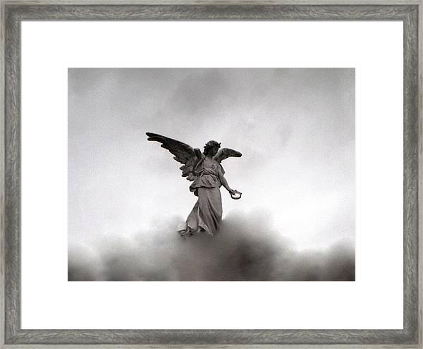 Armless Angel Framed Print