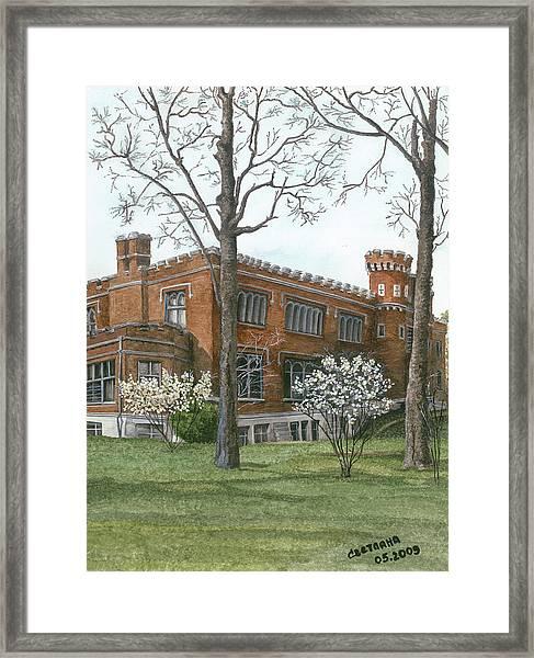 Arrival Of Spring At Culver Framed Print