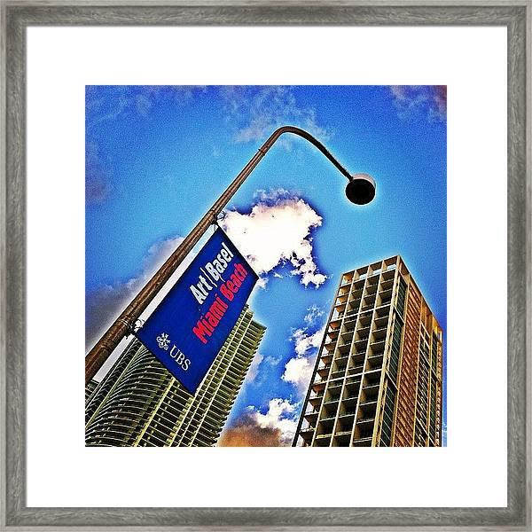 Art Basel Miami Beach Framed Print