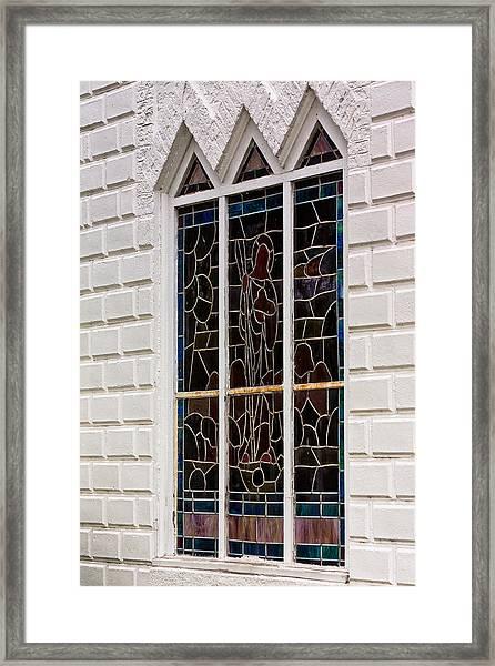 Art In Glass Framed Print