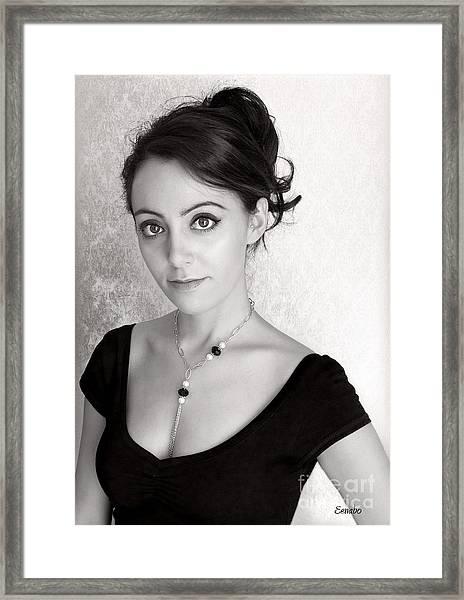 Art Jewelry Framed Print