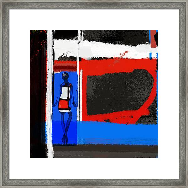 Art Scene Framed Print