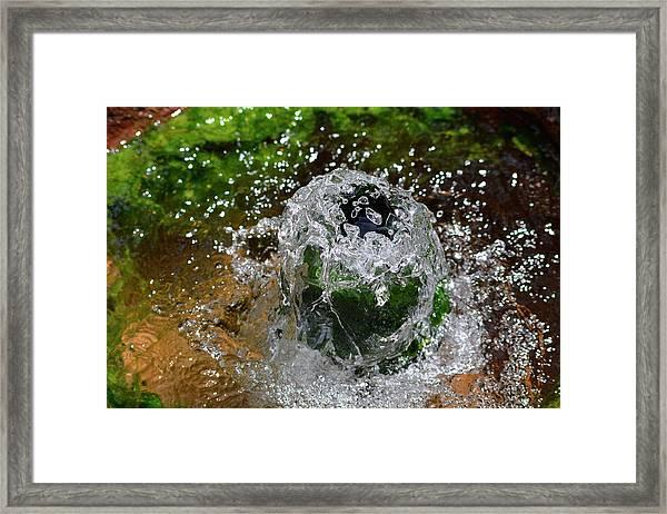 Artesian Well Framed Print