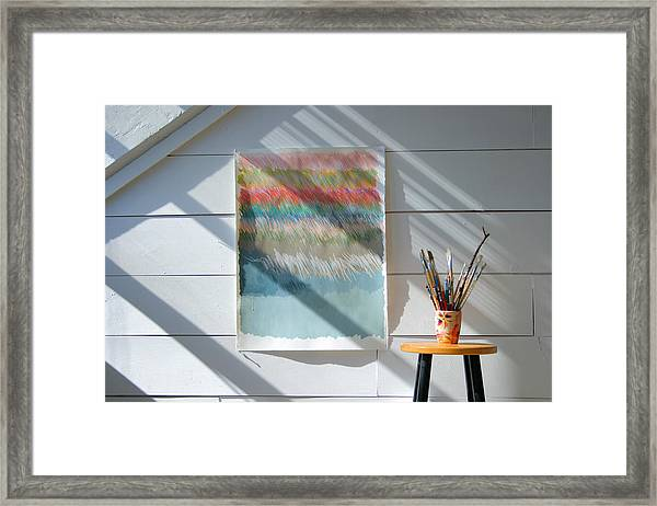 Artistic Showcase Framed Print